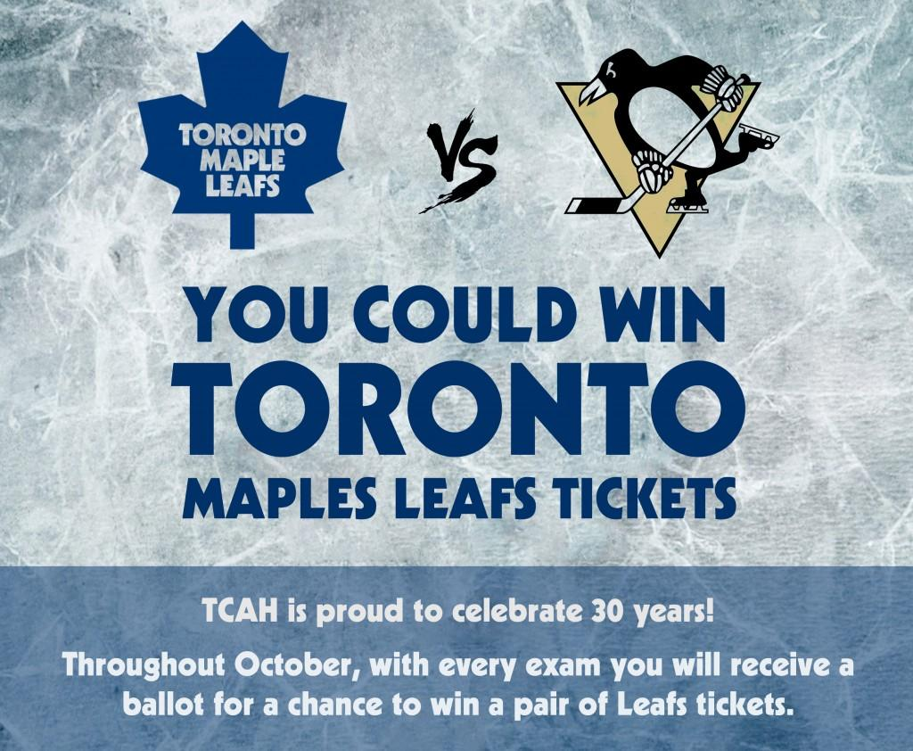Leafs Tickets Giveaway Facebook